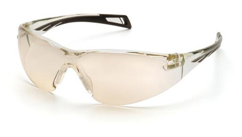 Pyramex PMXSlim Safety Glasses with Black Temples and Indoor/Outdoor Lens