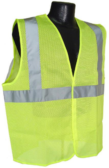 Radians SV2-Mesh Class 2 Hi-Viz Green Safety Vest