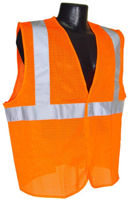 Radians SV2-Mesh Class 2 Hi-Viz Orange Safety Vest
