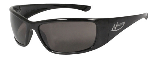 Radians Vengeance Safety Glasses with Black Frame and Smoke Lens