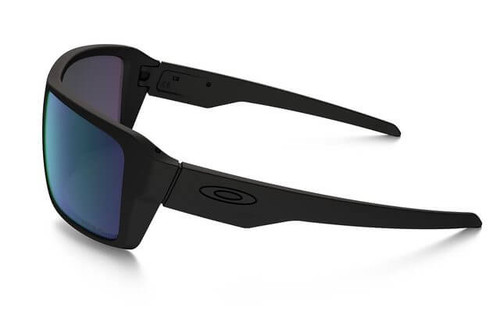 6bfe0c845f Oakley SI Double Edge Sunglasses with Matte Black Frame and Prizm Maritime  Polarized Lens