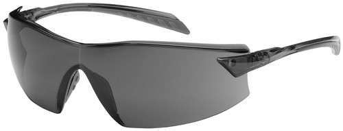 Bouton Radar Safety Glasses with Gray Temple and Gray Anti-Fog Lens
