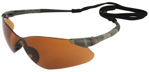 Jackson Nemesis VL Safety Glasses with Bronze Lens