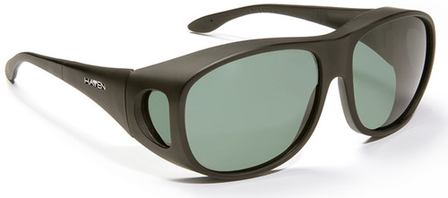 Haven Summerwood OTG Sunglasses with Black Frame and Gray Polarized Lens
