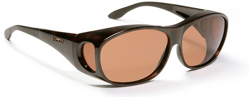 Haven Meridian OTG Sunglasses with Tortoise Frame and Amber Polarized Lens