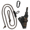 Muddy Safeguard youth Harness Lineman's Rope, Tree Strap, Suspension Relief Strap, Carabiner