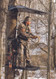 The Sportsman tree stand hunter standing