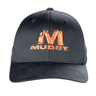 Muddy Black Flex Fit (with big M)