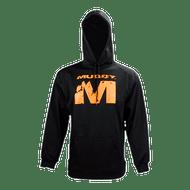 "Black Muddy Hoodie w/ Big ""M"" Logo"