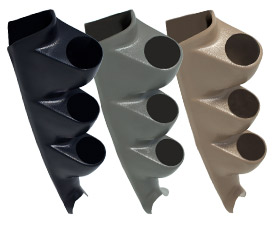 00-06 Chevy Silverado Duramax Full Size Triple Pillar Gauge Pods