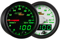 MaxTow 2200 F Exhaust Gas Temperature Gauge