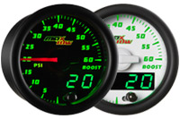 MaxTow Double Vision 60 PSI Boost Gauge