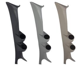 99-07 Ford Super Duty Powerstroke Full Size Dual Pillar Gauge Pods