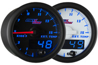 MaxTow Double Vision 1500 F Pyrometer EGT Gauge