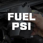 Fuel Pressure PSI Gauges
