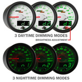 White MaxTow Double Vision Daytime & Nighttime Dimming Modes