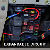 Expandable Circuit Installed