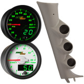 2007-2013 Chevrolet Silverado Custom MaxTow Diesel Gauge Package