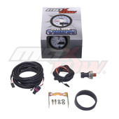 White & Blue MaxTow 100 PSI Fuel Pressure Gauge Unboxed
