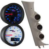 Blue MaxTow 2007-2013 GMC Sierra Duramax Truck Custom Gauge Package