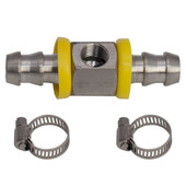 """MaxTow 1/2"""" Fuel Line Fuel Pressure T-Fitting Adapter"""