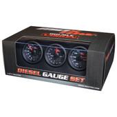 Black & Green MaxTow 3 Gauge Diesel Set