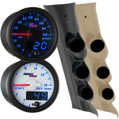 2014-2018 Chevrolet Silverado Duramax Blue MaxTow Custom Gauge Package Main