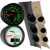 2014-2018 GMC Sierra Duramax Green MaxTow Custom Gauge Package Thumb