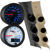 2014-2018 GMC Sierra Duramax Blue MaxTow Custom Gauge Package Thumb