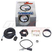 White & Blue MaxTow Differential Temperature Gauge Unboxed