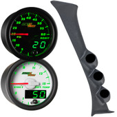 Green MaxTow Triple Gauge Package for 1992-2002 Ford E-Series Van