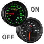 MaxTow 60psi Diesel Boost Gauge On/Off