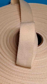 "Heavyweight 1"" natural twill tape"