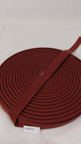 "Cotton Twill Tape 3/4"" Firebrick"