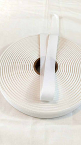 "Lightweight 3/4"" white twill tape, 72 yard roll"