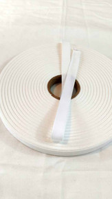"Lightweight 1/2"" white twill tape, 72 yard roll"