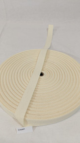 "Cotton Twill Tape 3/4"" Cream"