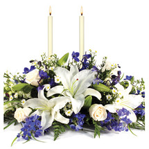 HANUKKAH LIGHTS CENTERPIECE