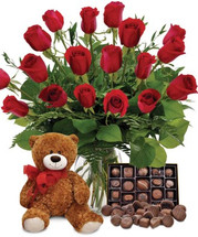 CLASSIC 24 RED ROSES