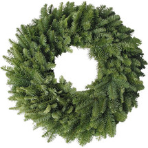 "Fresh 20"" wreaths ready for you to decorate."