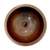 Eclectica Colette Round Copper Bathroom Basin 420mm