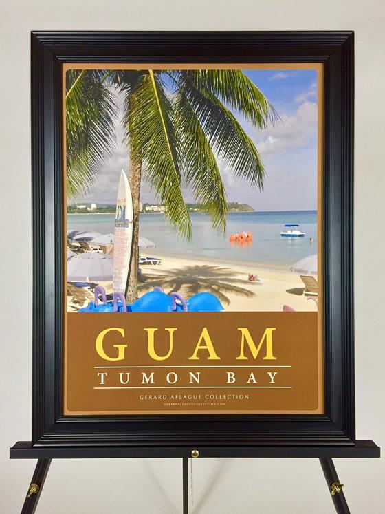 Guam Art Guam Gifts Guam Tumon Bay Poster 18x24