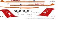1/144 Scale Decal Qantas DC9-30