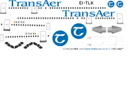 1/144 Scale Decal Trans Aer A-300