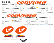 1/144 Scale Decal Conviasa 747-400