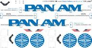 1/200 Scale Decal Pan Am 747-100 Billboard