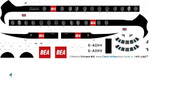 1/96 Scale Decal BEA Red Square Viscount 800