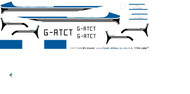 1/72 Scale Decal BN2 Islander Prototype