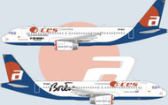 1/144 Scale Decal Aces Columbia Eje Cafetero Livery