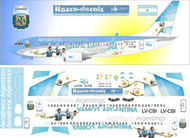 1/144 Scale Decal Aerolineas Argentinas 737-700 World Cup Livery